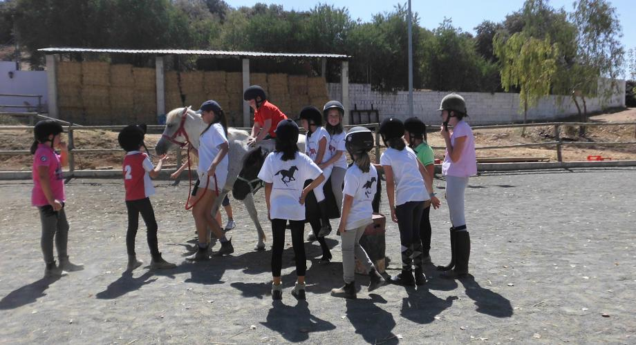 English Horse Camp II, pony riding - Cortijo Las Minas